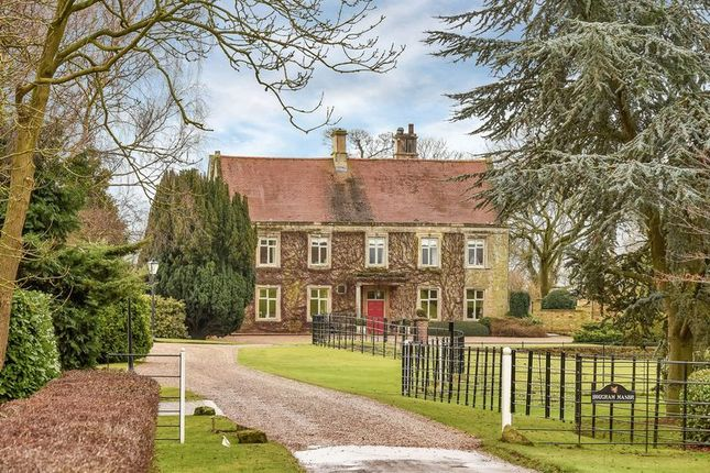 Thumbnail Detached house for sale in Hougham Manor, Manor Lane, Hougham, Lincolnshire