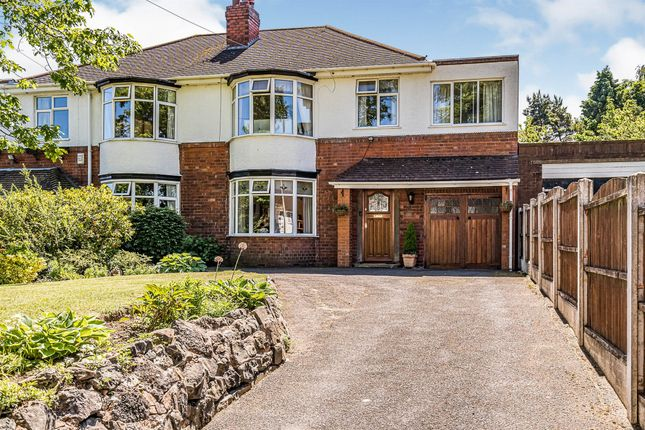 Thumbnail Semi-detached house for sale in Oakham Road, Oakham, Dudley
