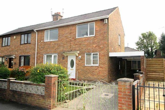Thumbnail Semi-detached house to rent in Savick Avenue, Lea, Preston