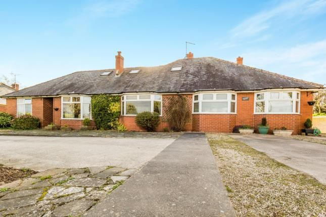 Thumbnail Bungalow for sale in Stony Houghton, Mansfield, Derbyshire