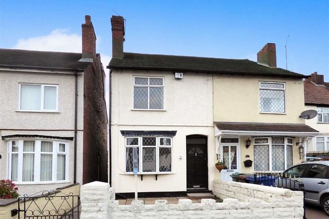 Thumbnail Semi-detached house to rent in Huntington Terrace Road, Cannock, Staffs