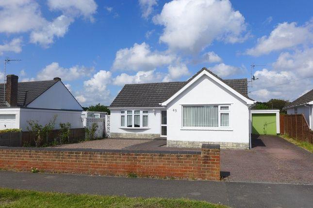 Thumbnail Detached bungalow for sale in Dorset Avenue, West Parley, Ferndown