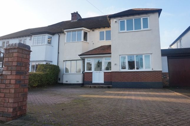 Thumbnail Semi-detached house for sale in Walmley Road, Walmley, Sutton Coldfield