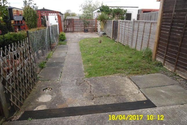 Garden of Belgrave Street, Eccles, Aylesford ME20