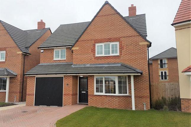 Thumbnail Detached house for sale in Hazel Way, Edleston, Nantwich