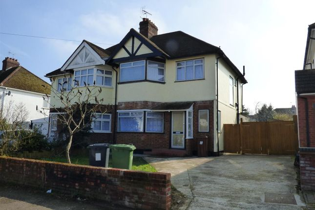 Thumbnail Semi-detached house for sale in Melrose Avenue, Borehamwood