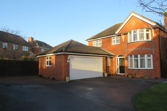 Thumbnail Detached house for sale in Merlin Way, Mickleover, Derby