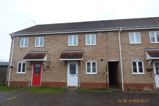 2 bed terraced house to rent in Monarch Way, Carlton Colville, Lowestoft NR33