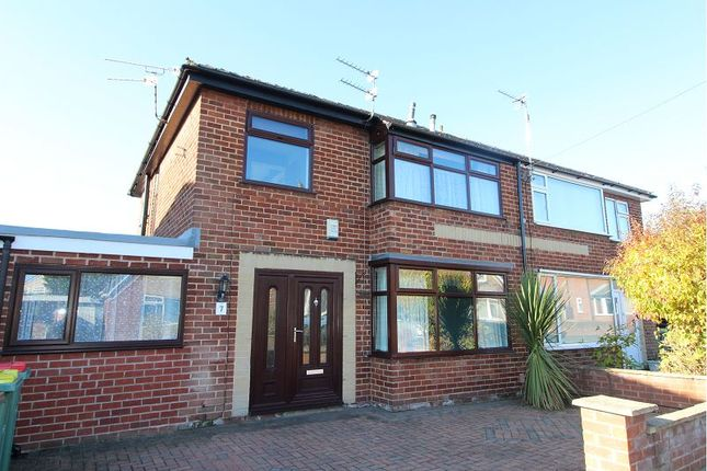 Thumbnail Semi-detached house to rent in Ansdell Grove, Ashton On Ribble, Preston
