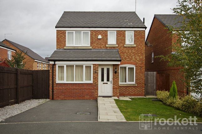 Thumbnail Detached house to rent in Brent Close, Newcastle-Under-Lyme