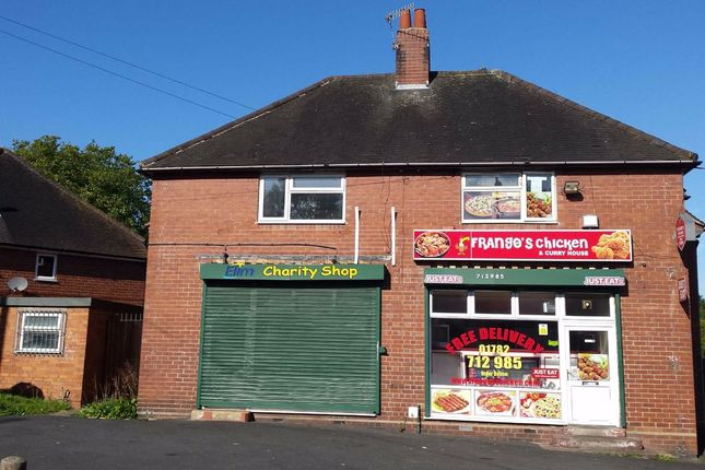 Thumbnail Retail premises for sale in Sneyd Terrace, Newcastle-Under-Lyme, Staffordshire