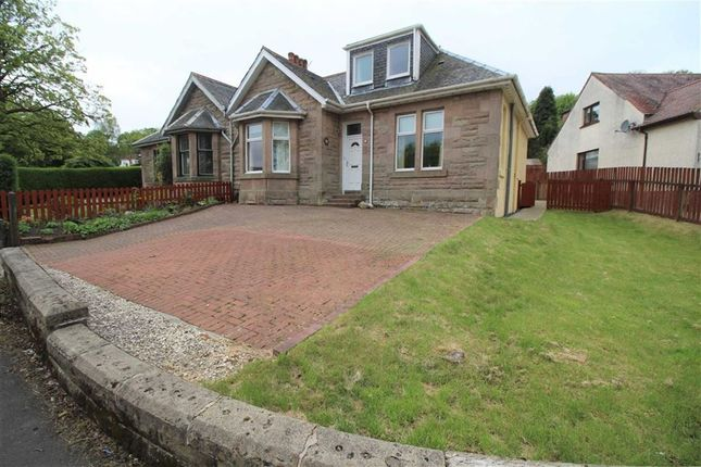 Thumbnail Semi-detached bungalow for sale in Broomberry Drive, Gourock