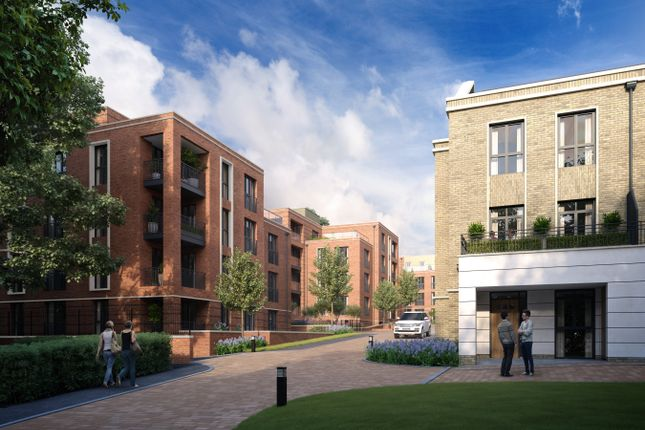 Thumbnail Flat for sale in Guinevere Apartments, Knights Quarter, Winchester