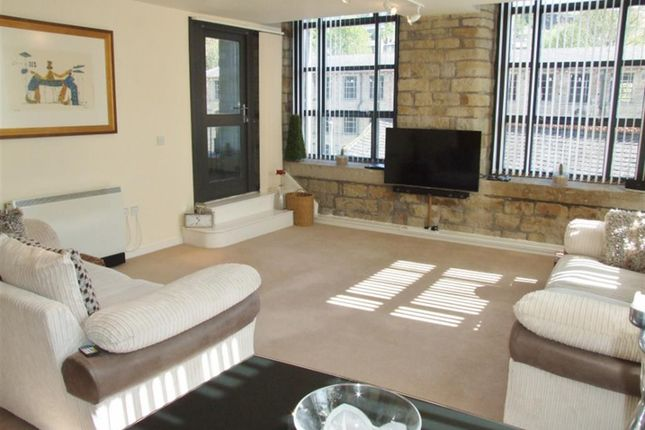 Thumbnail Flat for sale in Quarry Bank Mill, Stoney Lane, Longwood, Huddersfield