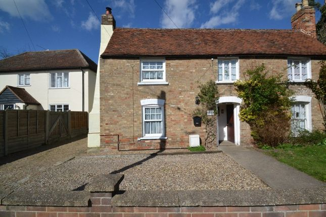 Thumbnail Cottage for sale in Head Lane, Great Cornard, Sudbury