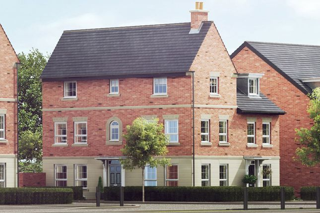 "Thumbnail End terrace house for sale in ""Brentwood"" at Harbury Lane, Heathcote, Warwick"