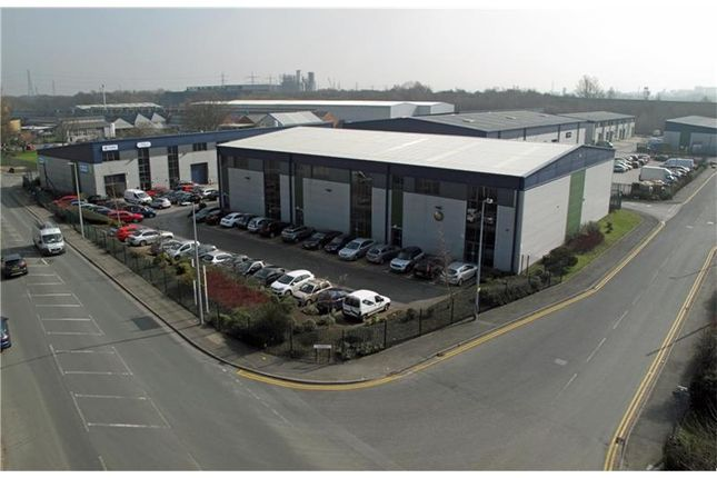 Thumbnail Warehouse to let in Fairhills Trading Estate, Fairhills Road, Irlam, Manchester, Greater Manchester, UK