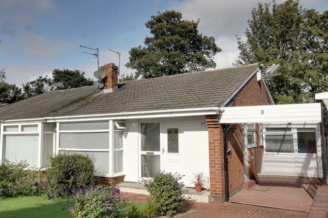 Thumbnail 2 bed bungalow for sale in Priory Way, Whorlton Grange, Newcastle Upon Tyne