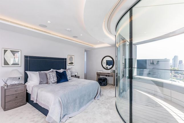 Master Bedroom of Tower Two, The Corniche, 23 Albert Embankment, London SE1