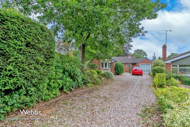 Thumbnail Detached bungalow for sale in Johnson Close, Lichfield