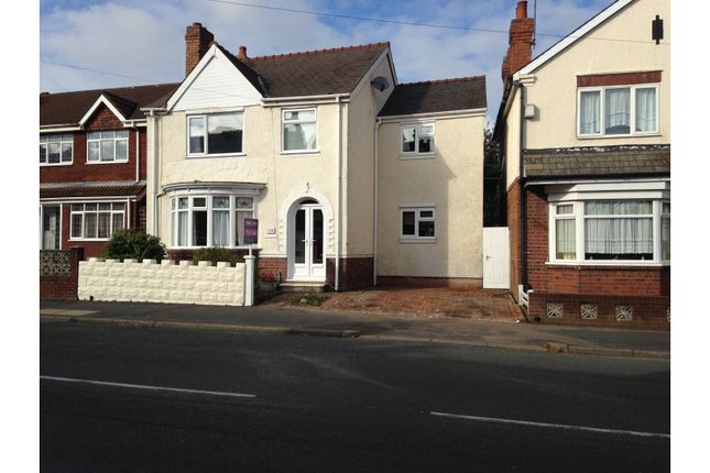Thumbnail Detached house for sale in Brunswick Park Road, Wednesbury