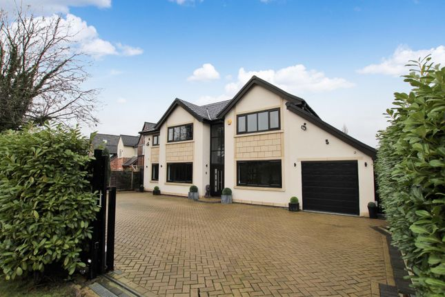 Thumbnail Detached house for sale in Chapel Lane, Hale Barns, Altrincham
