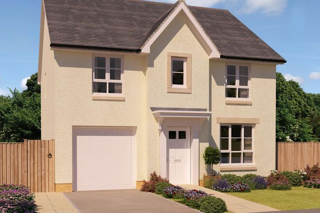 "Thumbnail Detached house for sale in ""Corgarff"" at Greystone Road, Kemnay, Inverurie"