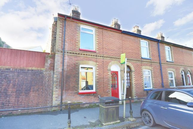 Thumbnail End terrace house to rent in Carisbrooke Road, Newport