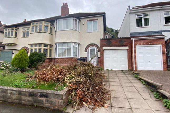 Thumbnail Semi-detached house to rent in Bonsall Road, Erdington, Birmingham