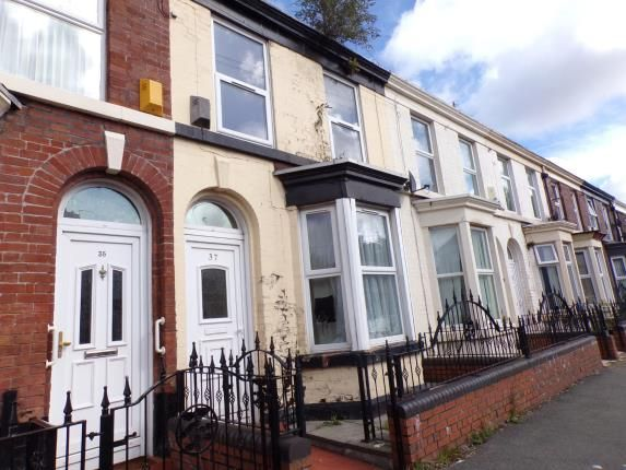 Front of Merlin Street, Toxteth, Liverpool, Merseyside L8