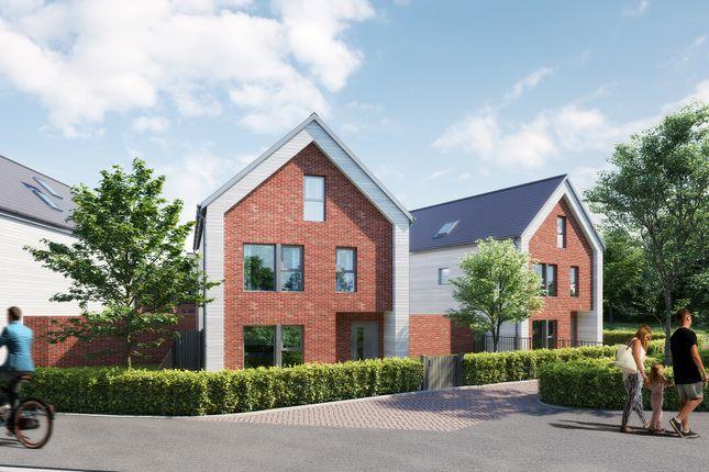 Thumbnail Detached house for sale in Mindenhurst Road, Deepcut