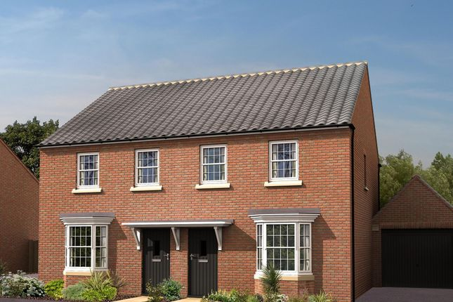 """Thumbnail Semi-detached house for sale in """"Archford"""" at Laurels Road, Offenham, Evesham"""