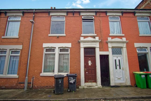 Thumbnail Terraced house for sale in St. Pauls Avenue, Preston