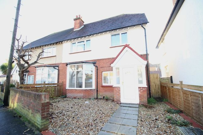 Thumbnail Semi-detached house to rent in Havelock Road, Bognor Regis