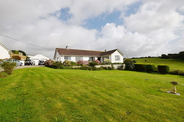 Thumbnail Detached bungalow for sale in Barkla Shop, St. Agnes