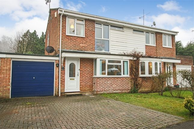 Thumbnail Semi-detached house for sale in Birch Close, Crawley Down, West Sussex