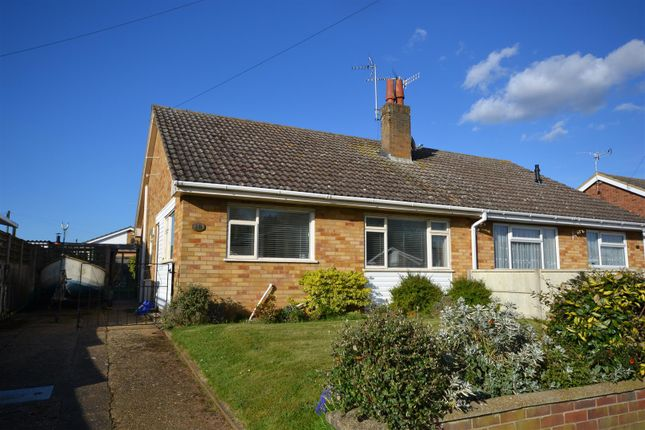 Thumbnail Semi-detached bungalow for sale in Prince Andrew Drive, Dersingham, King's Lynn