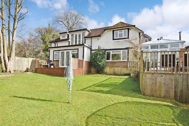 Thumbnail Detached house for sale in Cross Lane, Findon, Worthing, West Sussex