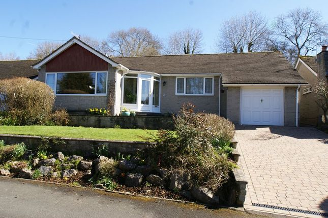 Thumbnail Detached bungalow for sale in Castle Drive, Bakewell, Derbyshire