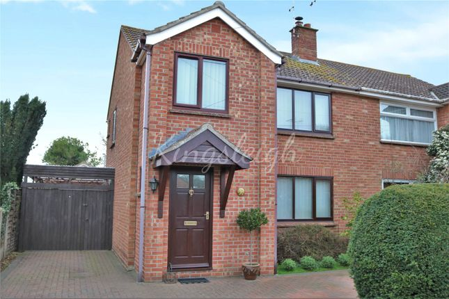 Thumbnail Semi-detached house for sale in Milton Road, Lawford, Manningtree, Essex