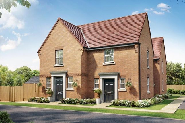"Thumbnail End terrace house for sale in ""Lewington"" at Stonnyland Drive, Lichfield"