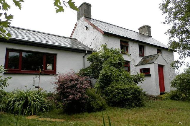 Thumbnail Farmhouse for sale in Plwmp, Plwmp, Llandysul, Ceredigion