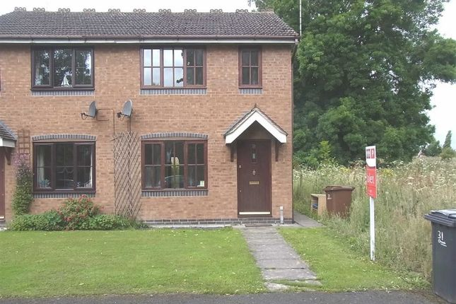 Thumbnail End terrace house to rent in 31, Orchard Drive, West Felton, Oswestry, Shropshire
