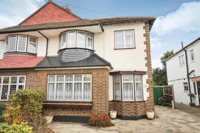 Thumbnail Semi-detached house for sale in Dulverton Road, London, .