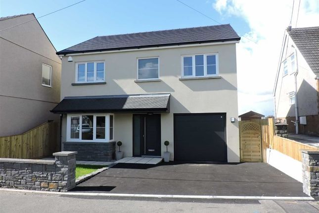 Thumbnail Detached house for sale in Heol Y Plas, Fforest, Pontarddulais, Swansea