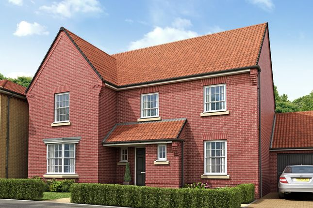 "Thumbnail Detached house for sale in ""Manning"" at Sir Williams Lane, Aylsham, Norwich"