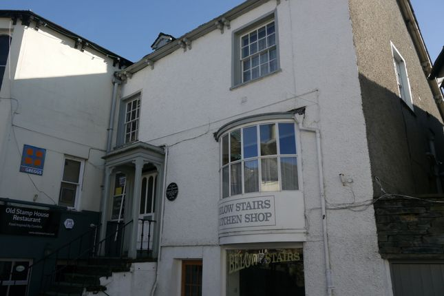 Thumbnail Flat for sale in Flat 2, Old Stamp House, Church Street, Ambleside