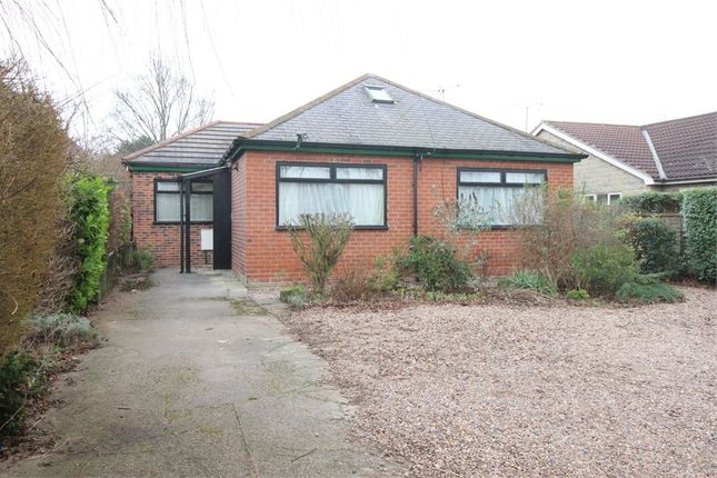 3 bed detached bungalow for sale in Swinston Hill Road, Dinnington, Sheffield, South Yorkshire
