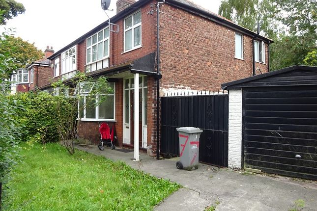 Thumbnail Semi-detached house for sale in Blenheim Road, Firswood, Manchester
