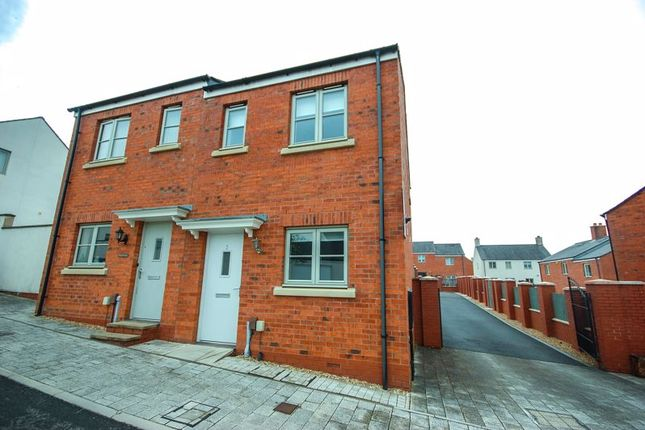 2 bed semi-detached house to rent in 3 Lon Y Grug, Llandarcy, Neath SA10